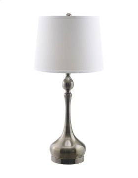 Fairley Silver Mercury Glass Table Lamp