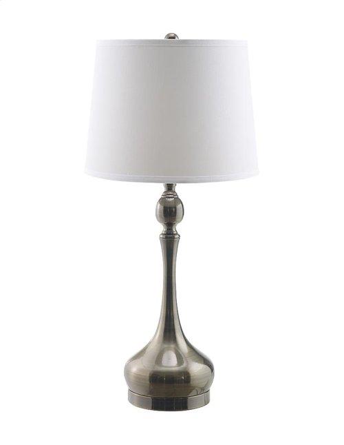 Fairley Silver Mercury Glass Table Lamp