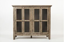 """Rustic Shores Watch Hill Weathered Grey 48"""" Accent Cabinet"""