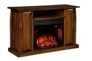 "Mid Century 54"" Fireplace Media Cabinet Product Image"