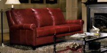 82-1700 Long Arm Post Leg Sofa