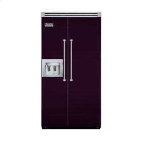 "Plum 42"" Quiet Cool™ Side-by-Side with Dispenser - VISB Tru-Flush™ (42"" wide)"