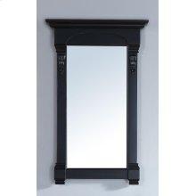 "Brookfield 26"" Mirror, Antique Black"