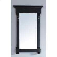 "Brookfield 26"" Mirror, Antique Black"