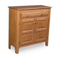 Country 1-Drawer Cabinet Product Image