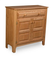 Country 1-Drawer Cabinet
