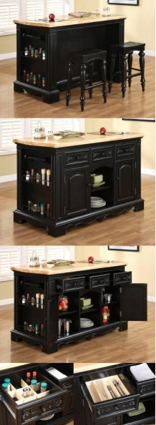 Pennfield Kitchen Island & Stool