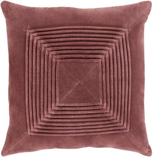 """Akira AKA-003 22"""" x 22"""" Pillow Shell with Polyester Insert"""