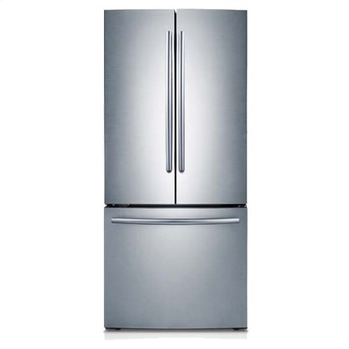 "30"" Wide, 22 cu. ft. French Door Refrigerator (Stainless Steel)"