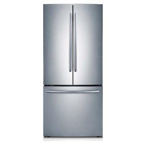 "30"" Wide, 22 cu. ft. French Door Refrigerator (Stainless Steel)"