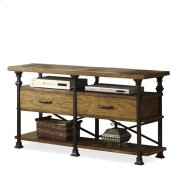 Lennox Street Console Table Landmark Worn Oak finish Product Image