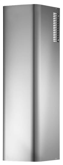 Optional Non-Ducted Flue Extension for RM52000 in Stainless Steel