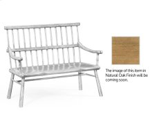 Natural Oak Country Bench