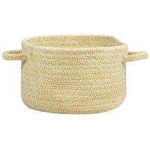 Latte Chenille Creations Basket
