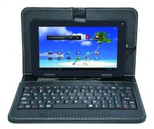 """7"""" Dual Core Tablet With Case and Keyboard 512mb/4gb"""