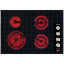 "30"" 4-Burner KM 5624 Electric Cooktop - Ceran® Glass Electric Cooktop (240V)"