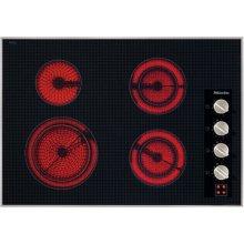 "30"" 4-Burner KM 5624 Electric Cooktop - Ceran® Glass Electric Cooktop (240V)"