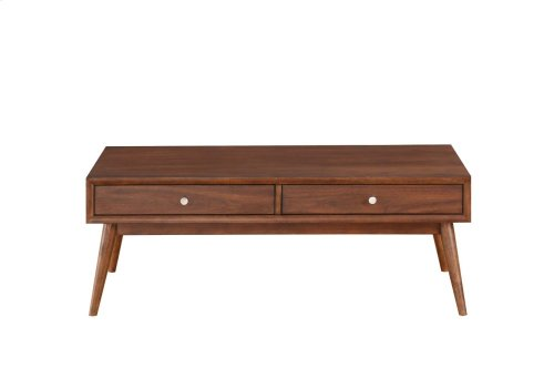 Sofa Table with Two Functional Drawers