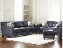 Hendrix Loveseat w/2 Accent