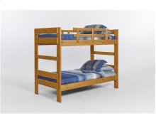 Heartland Two Piece Bunk Bed with options: Honey Pine