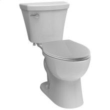 White Elongated Toilet