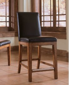LEATHER BAR STOOL - KD