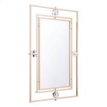 Floating Rectangle Lucite Mirror M & L