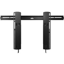 "Black Super Slim Tilting Wall Mount For 51"" - 80"" flat-panel TVs"
