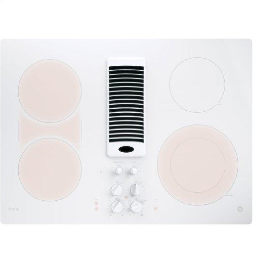 "GE Profile™ Series 30"" Downdraft Electric Cooktop"