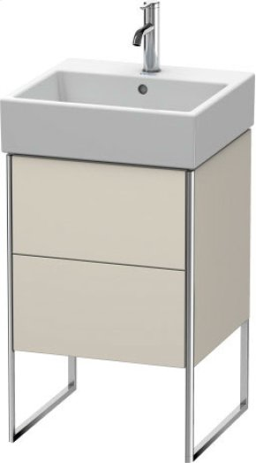 Vanity Unit Floorstanding, Taupe Matt (decor)