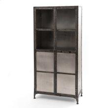 Element Cabinet-nickel/antique Nickel