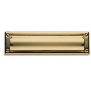 Lifetime Polished Brass Letter Box Plates Product Image