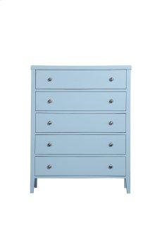Emerald Home Home Decor 5 Drawer Chest-pastel Blue B371-05blu