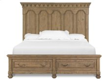 Complete Cal. King Panel Storage Bed