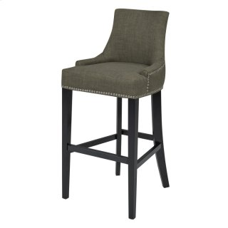 Charlotte Fabric Bar Stool, Toffee