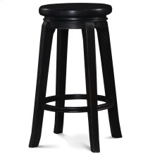 Berkshire Barstool - Black Distressed