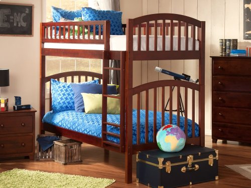 Richland Bunk Bed Twin over Twin in Walnut