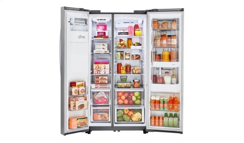 22 cu.ft. Smart wi-fi Enabled InstaView Door-in-Door® Counter-Depth Refrigerator