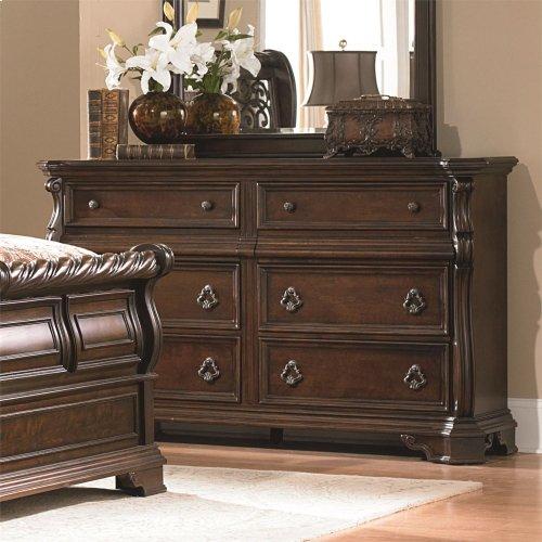 8 Drawer Double Dresser