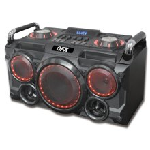 """6.25"""" Portable Party Pa System/boom Box"""