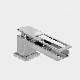 3300 Series Single-hole Lavatory Set with Flat Lever