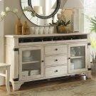 Regan - Sideboard - Farmhouse White Finish Product Image