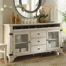 Regan - Sideboard - Farmhouse White Finish