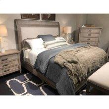 Willow Upholstered Bed - Burlap / Queen