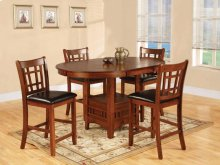Oak Pub Dining Set
