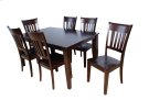 Solid Wood Ext. Table w/ b'fly leaf Product Image