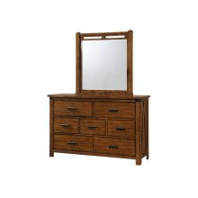 1022 Logan Dresser with Mirror