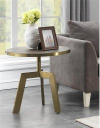 Round Accent End Table Product Image