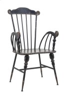 Trenton Black Metal Arm Chair Product Image