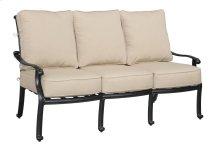 Emerald Home Versailles Sofa Sunbrella Beige Cushions-onyx Cast Aluminum Frame-ou1045-00-1-05